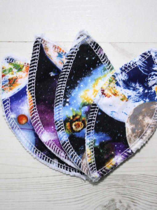 Planets Interlabial pads – set of 4