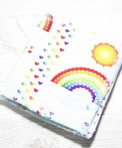 Rainbows on Mint Make-up remover wipes - set of 5