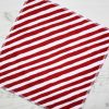 Red Candy Stripe – Reusable Kitchen Wipe – Single Sheet