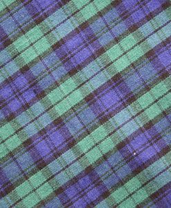 Navy and Green Tartan – Reusable Kitchen Wipe – Single Sheet