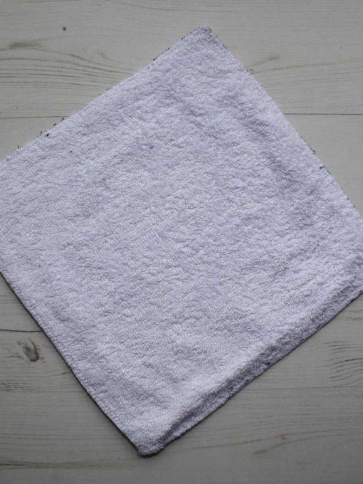 Navy and Green Tartan - Reusable Kitchen Wipe - Single Sheet