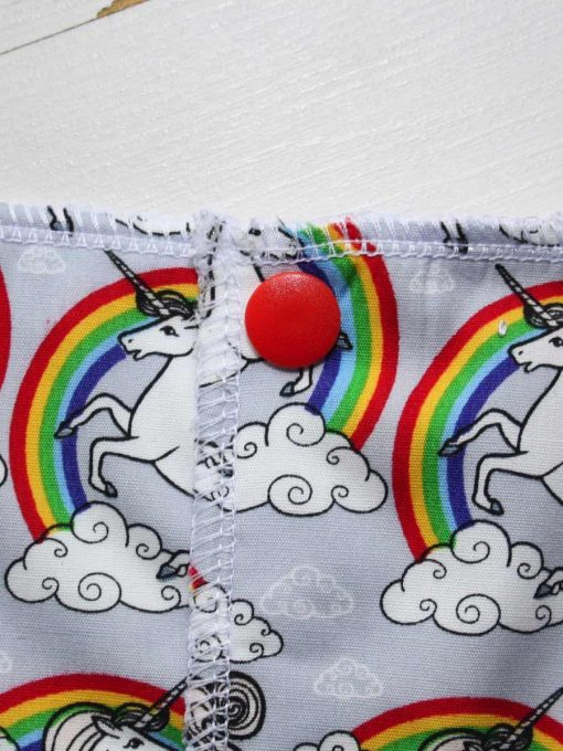 Silver Unicorns - Reusable Kitchen Roll - Set of 7