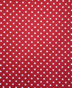 Red Dobby Spot Reusable Kitchen Roll