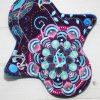 "6"" Regular Flow cloth pad | Harmony Cotton Jersey | Blue Wind Pro Fleece | Luna Landings | Sub"