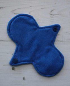 6″ Regular Flow cloth pad | Pacific Blue Cotton Jersey | Blue Wind Pro Fleece | Luna Landings | Slim Sub 3