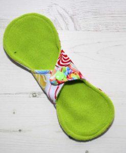 8″ Liner cloth pad   Fruit Lollipops Cotton Jersey   Lemongrass Wind Pro Fleece   Luna Landings   Slim Sub 4
