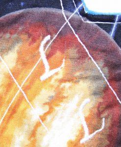 8″ Liner cloth pad | Large Planets Cotton | Blue Wind Pro Fleece | Luna Landings | Slim Sub 2