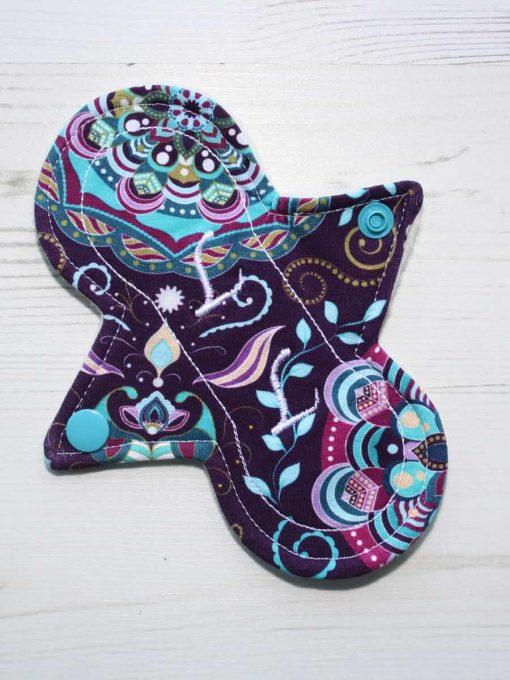 "6"" Liner cloth pad | Harmony Cotton Jersey | Cream Wind Pro Fleece | Luna Landings | Slim Sub"