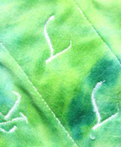 "8"" Regular Flow cloth pad | Peppermint Crush Plush | Grey Wind Pro Fleece | Luna Landings | Slim Sub"