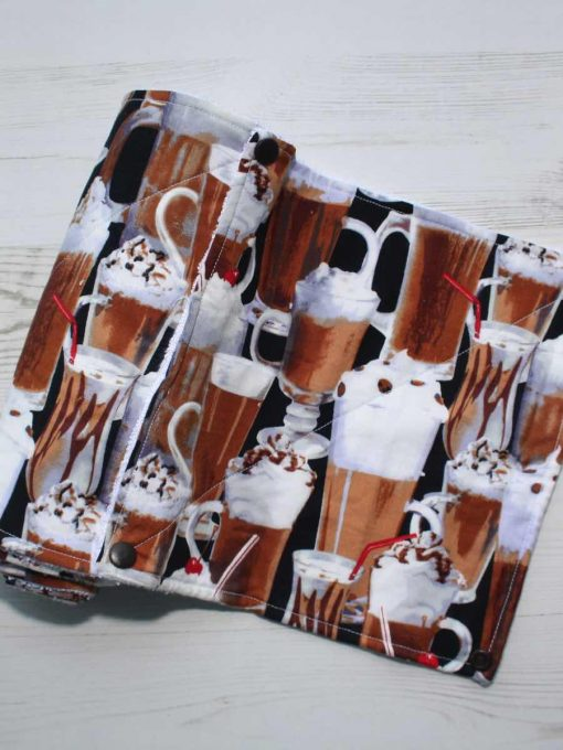 Coffee - Reusable Kitchen Towel - Set of 6
