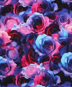 Custom made reusable cloth menstrual sanitary pad (CSP) | Fabric: Top layer - Cotton Jersey, Design: Opulence Roses