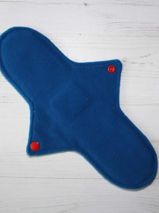 11″ Regular Flow cloth pad | Falcon Cotton | Blue Wind Pro Fleece | Luna Landings | Sub