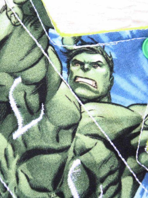 "11"" Regular Flow cloth pad | Hulk Cotton | Lemongrass Wind Pro Fleece | Luna Landings | Slim Sub"