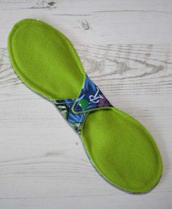 11″ Regular Flow cloth pad   Hulk Cotton   Lemongrass Wind Pro Fleece   Luna Landings   Slim Sub