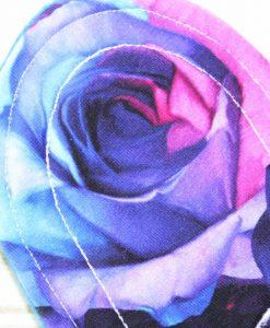 "9"" Regular Flow cloth pad | Opulence Roses Cotton Jersey | Blue Wind Pro Fleece | Luna Landings | Sub"