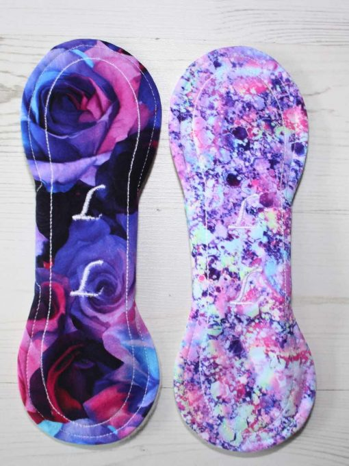 "Cloth Pad Starter Set - 2 x 9"" Liner | Opulence Mermaid"