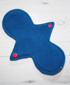 8″ Liner cloth pad | Rosebird Cotton | Blue Wind Pro Fleece | Luna Landings | Slim Sub