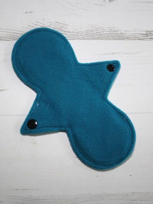"8"" Regular Flow cloth pad | Majestic Spells Stars Cotton Jersey | Spring Blue Wind Pro Fleece | Luna Landings | Slim Sub"