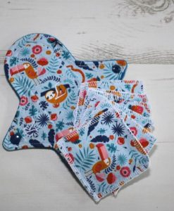 8-inch-Regular-Flow-cloth-menstrual-pad-Sloth-Cotton-Jersey-and-Blue-Wind-Pro-Fleece-Luna-Landings-Sub_0