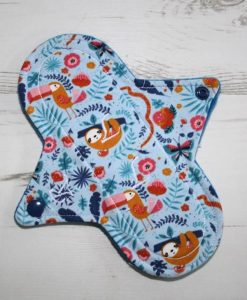 8-inch-Regular-Flow-cloth-menstrual-pad-Sloth-Cotton-Jersey-and-Blue-Wind-Pro-Fleece-Luna-Landings-Sub_1
