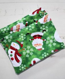Snowman Double Pouch Medium Wet Bag