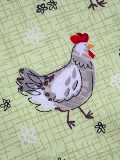 Chickens - Reusable Kitchen Wipe - Single Sheet