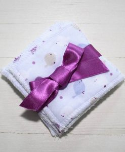 Little Birds Make-up remover wipes - set of 5