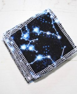 Constellation Make-up remover wipes - set of 5