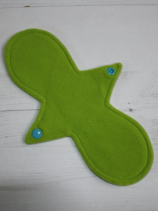 10″ Liner cloth pad | Beeometry Cotton Jersey | Green Wind Pro Fleece | Luna Landings | Slim Sub