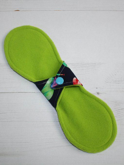 10″ Liner cloth pad   Beeometry Cotton Jersey   Green Wind Pro Fleece   Luna Landings   Slim Sub
