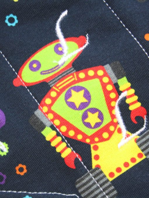 10″ Regular Flow cloth pad   Robots Cotton Jersey   Green Wind Pro Fleece   Luna Landings   Sub