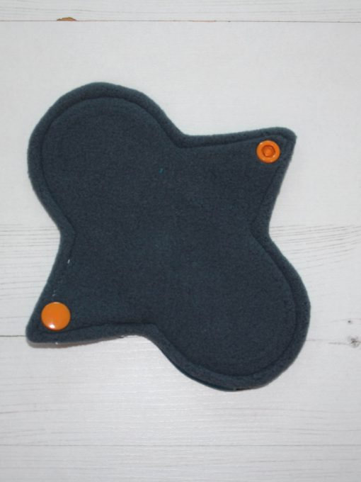 6″ Liner cloth pad | Nightlife Cotton Jersey | Grey Wind Pro Fleece | Luna Landings | Sub