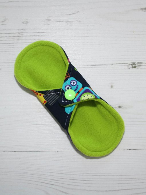 6″ Liner cloth pad   Robots Cotton Jersey   Green Wind Pro Fleece   Luna Landings   Sub