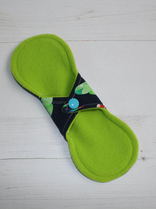 8″ Liner cloth pad | Beeometry Cotton Jersey | Green Wind Pro Fleece | Luna Landings | Slim Sub