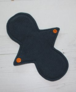 8″ Liner cloth pad | Nightlife Cotton Jersey | Grey Wind Pro Fleece | Luna Landings | Slim Sub