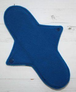 10″ Regular Flow cloth pad | Magic Skies Luna Cotton Jersey | Blue Wind Pro Fleece | Luna Landings | Sub