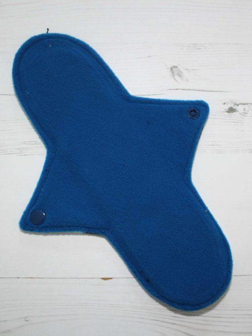 "10"" Regular Flow cloth pad | Magic Skies Luna Cotton Jersey | Blue Wind Pro Fleece | Luna Landings | Sub"
