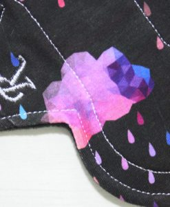 6-inch-Regular-Flow-cloth-menstrual-pad-Pink-Rainbow-Clouds-Cotton-Jersey-and-Black-Wind-Pro-Fleece-Luna-Landings-Slim-Sub_2.jpg_2-scaled
