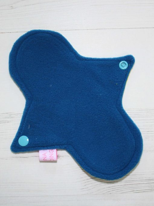 8-inch-Liner-cloth-menstrual-pad-Day-of-the-Dead-Yellow-Cotton-and-Blue-Wind-Pro-Fleece-Luna-Landings-Sub_3.jpg_3-scaled