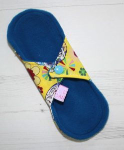 8-inch-Liner-cloth-menstrual-pad-Day-of-the-Dead-Yellow-Cotton-and-Blue-Wind-Pro-Fleece-Luna-Landings-Sub_4.jpg_4-scaled
