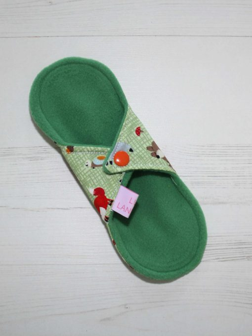 8-inch-Liner-cloth-menstrual-pad-Forest-Critters-Cotton-and-Green-Wind-Pro-Fleece-Luna-Landings-Sub_4.jpg_4-scaled