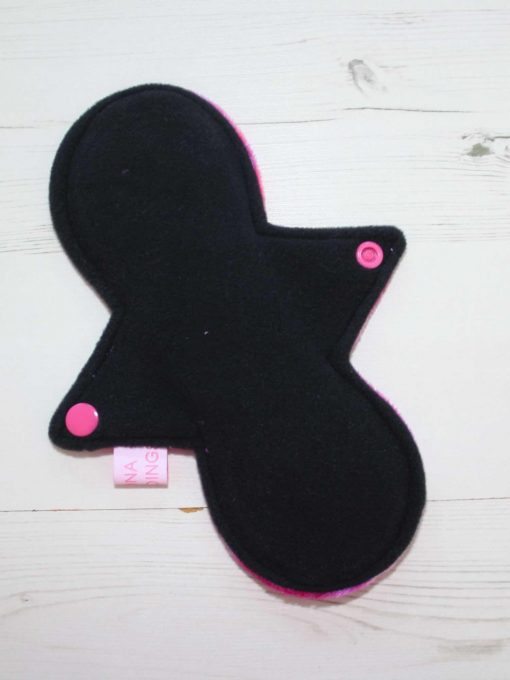 "8"" Heavy Flow cloth pad   Candy Smash Plush   Black Wind Pro Fleece   Luna Landings   Slim Sub"