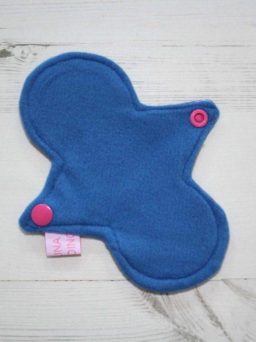"6"" Liner cloth pad | KaleidoSmoke Firewater Cotton Jersey | Blue Wind Pro Fleece | Luna Landings | Slim Sub"