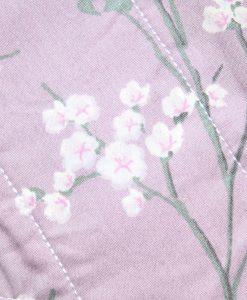 "8"" Light Flow cloth pad | Lilac Blossom Cotton | Grey Soft Shell | Luna Landings | Sub"