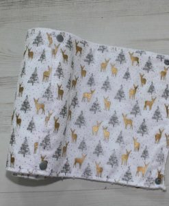 Forest Reindeers Sparkle - Reusable Kitchen Roll - Set of 6