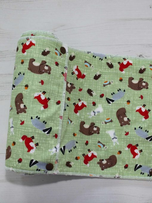 Forest Critters - Reusable Kitchen Roll - Set of 7