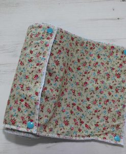 Ditsy Roses - Reusable Kitchen Roll - Set of 8