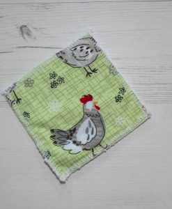 Chickens Make-up remover wipes large - set of 5