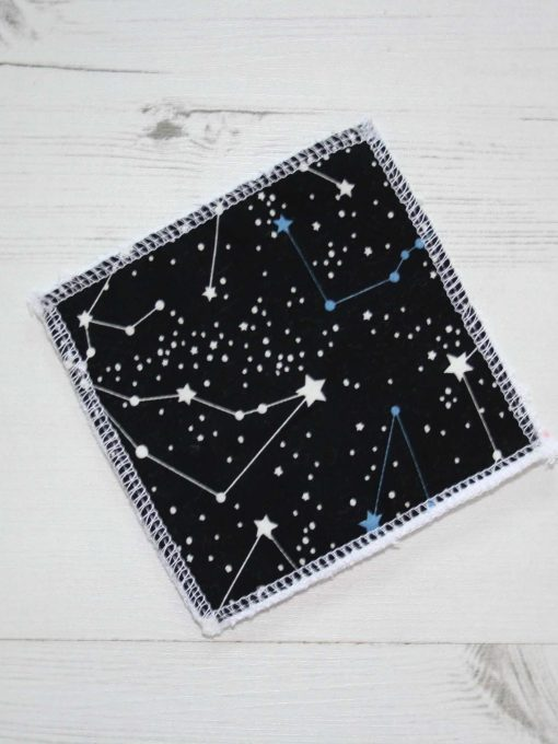 Constellation Make-up remover wipes large - set of 5
