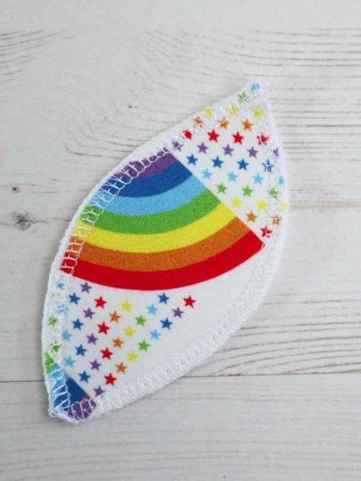 White Rainbow Bridge Interlabial pads - set of 4